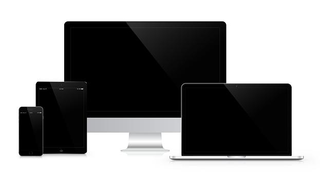anpassa webbsida till skärmtyp responisv design